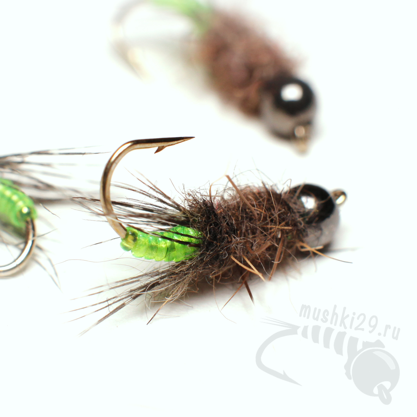 Peeping Caddis (Green)