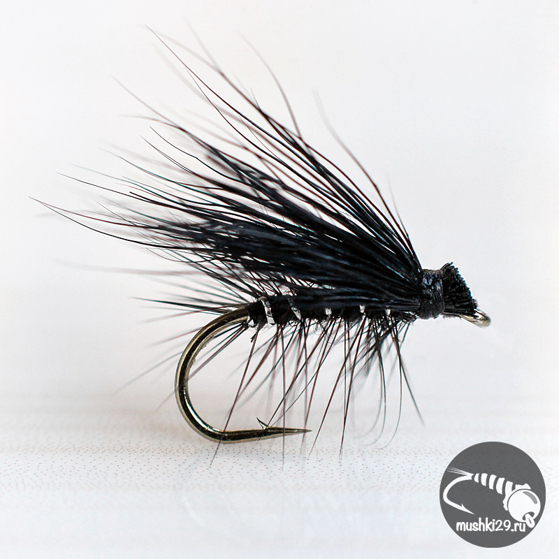 Elk Wing Caddis Black